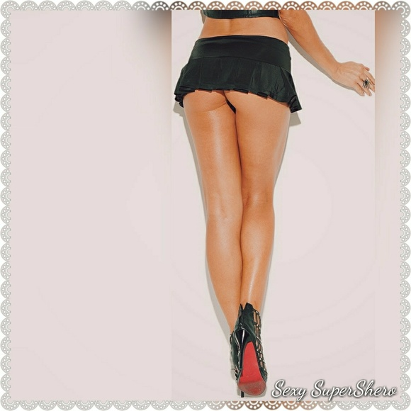 cad832bf57e Sexy SuperShero Skirts | Sexy Little Black Pleated Micro Mini Skirt ...
